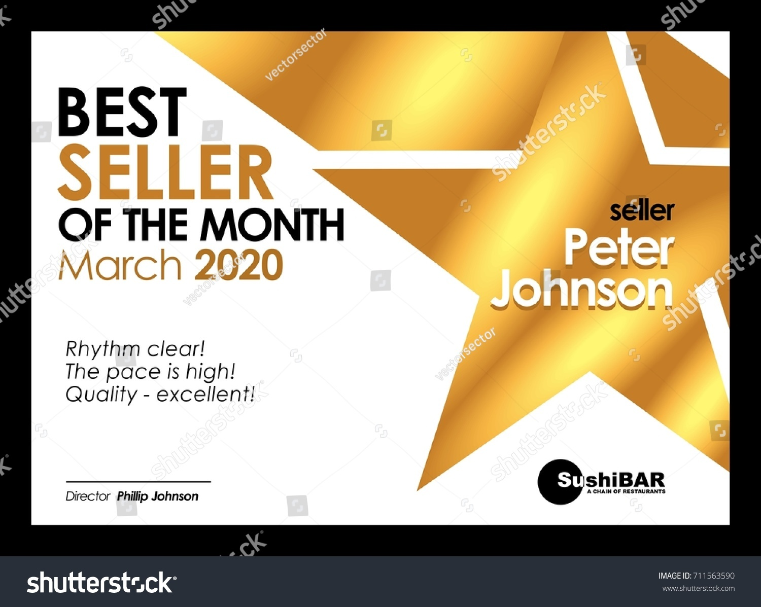 Diploma best seller month design template stock vector 711563590 diploma best seller of the month design template olden muniment template with gold metal texture vector 1betcityfo Images