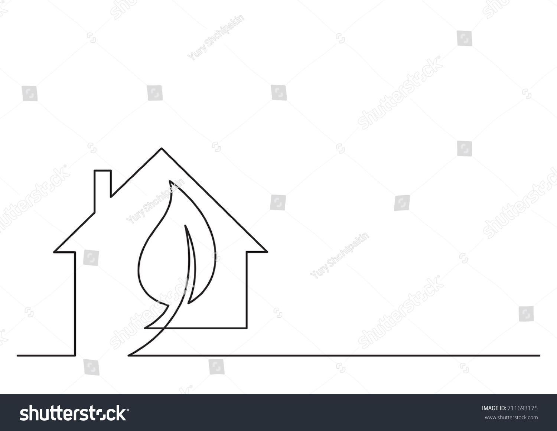 One Line Logo Design Energy Technologies Stock Vector HD (Royalty ...