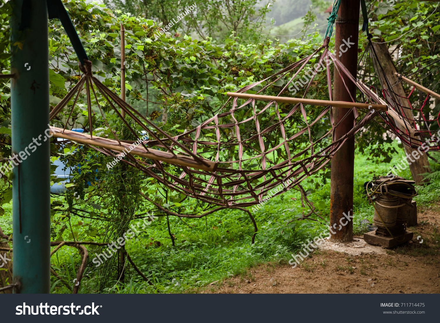 poles stand it hammock jnunniv a project first diy my yourself do