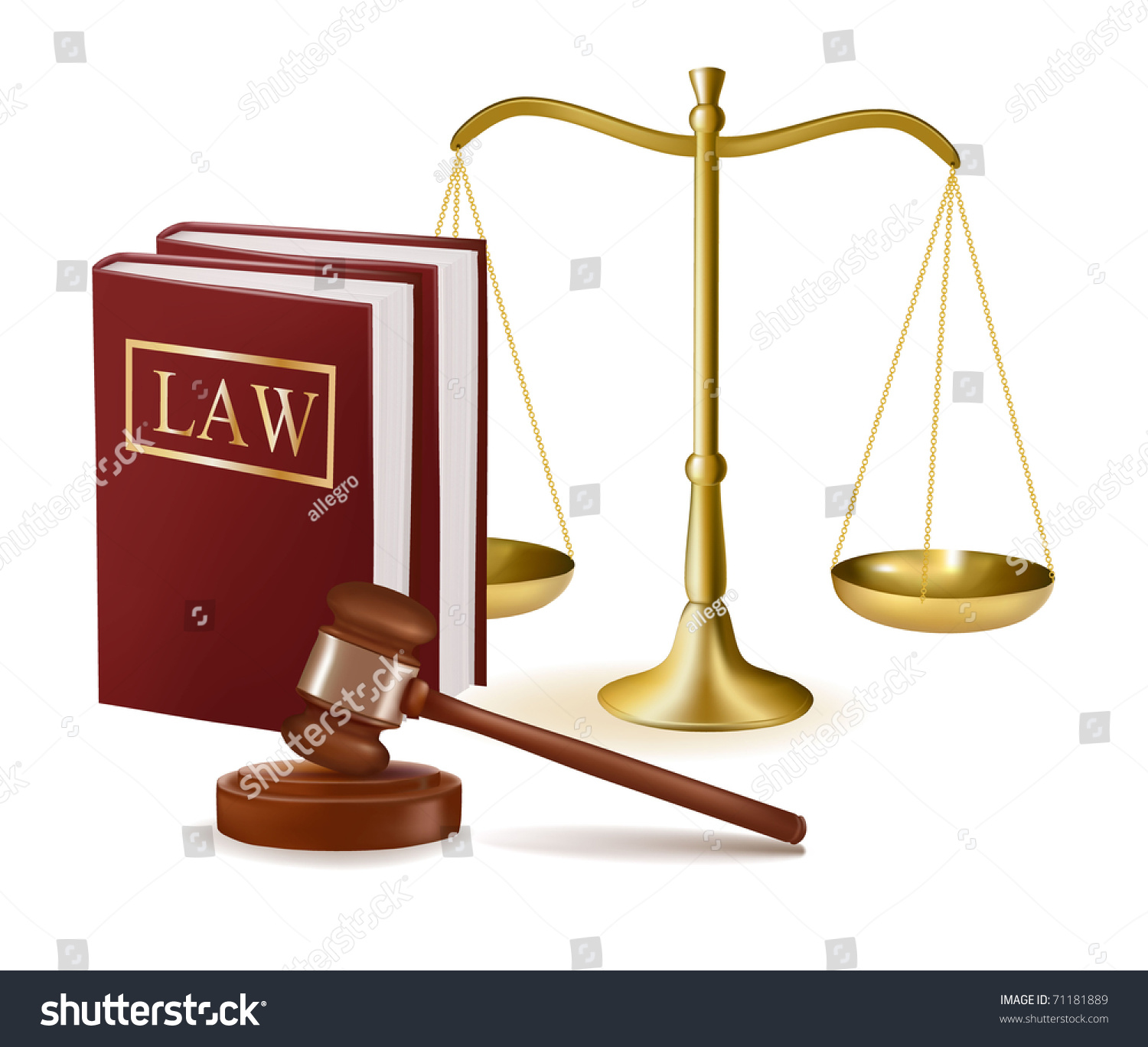 law scale and gavel - photo #3