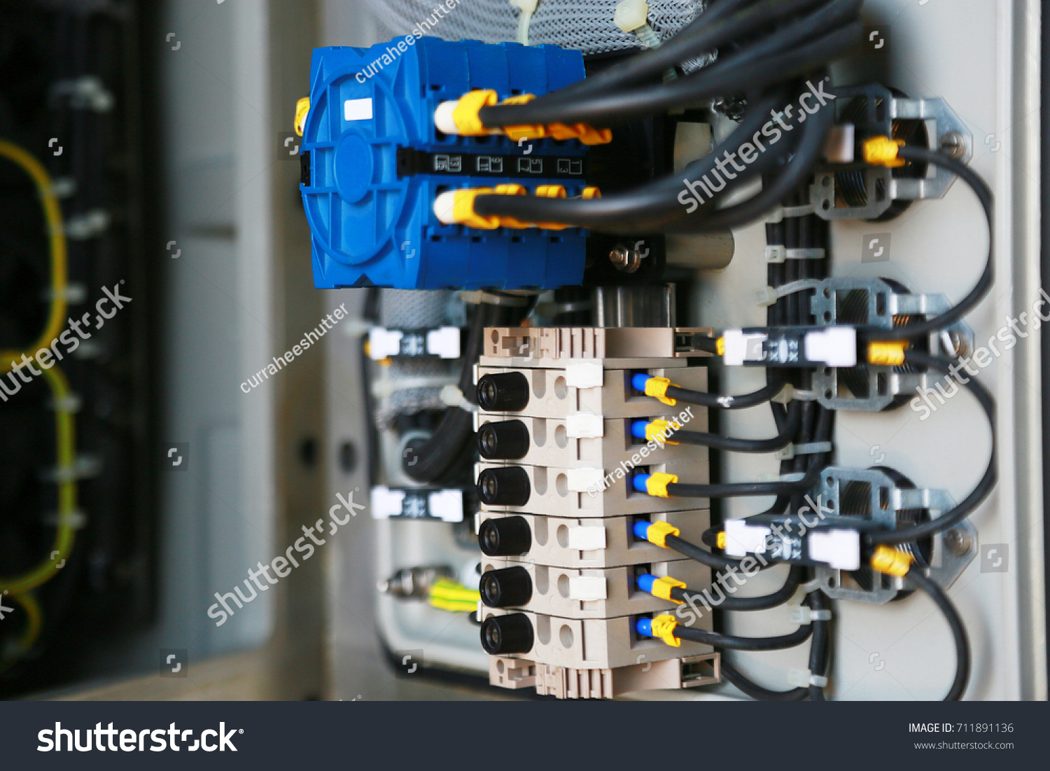 Electrical Terminal Junction Box Service By Stock Photo (Royalty ...
