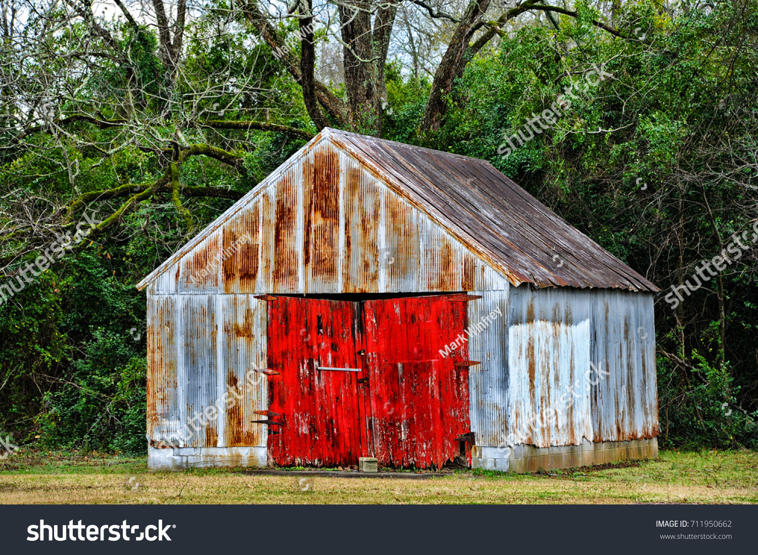 stock-photo-old-garage-building-with-wea
