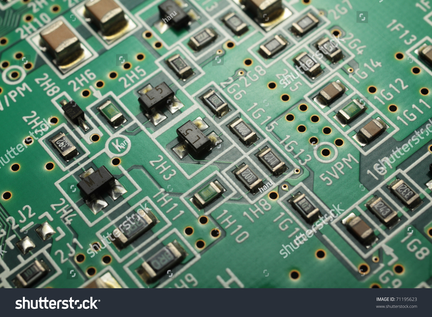 Printed Circuit Board Stock Photo Edit Now 71195623 Shutterstock Recycling Equipment