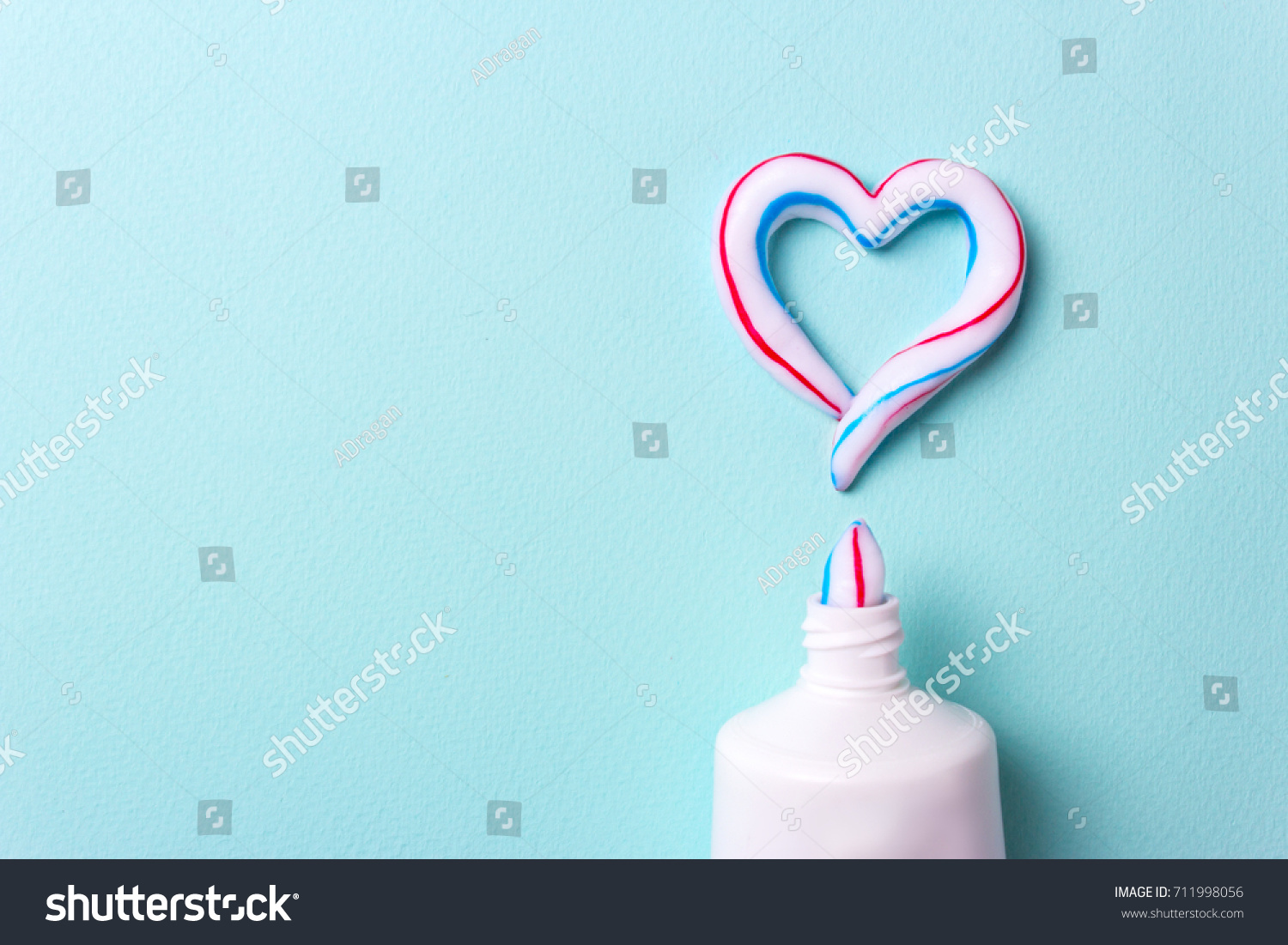 Heart symbol love toothpaste copy space stock photo 711998056 heart symbol and love from toothpaste copy space for text biocorpaavc Choice Image