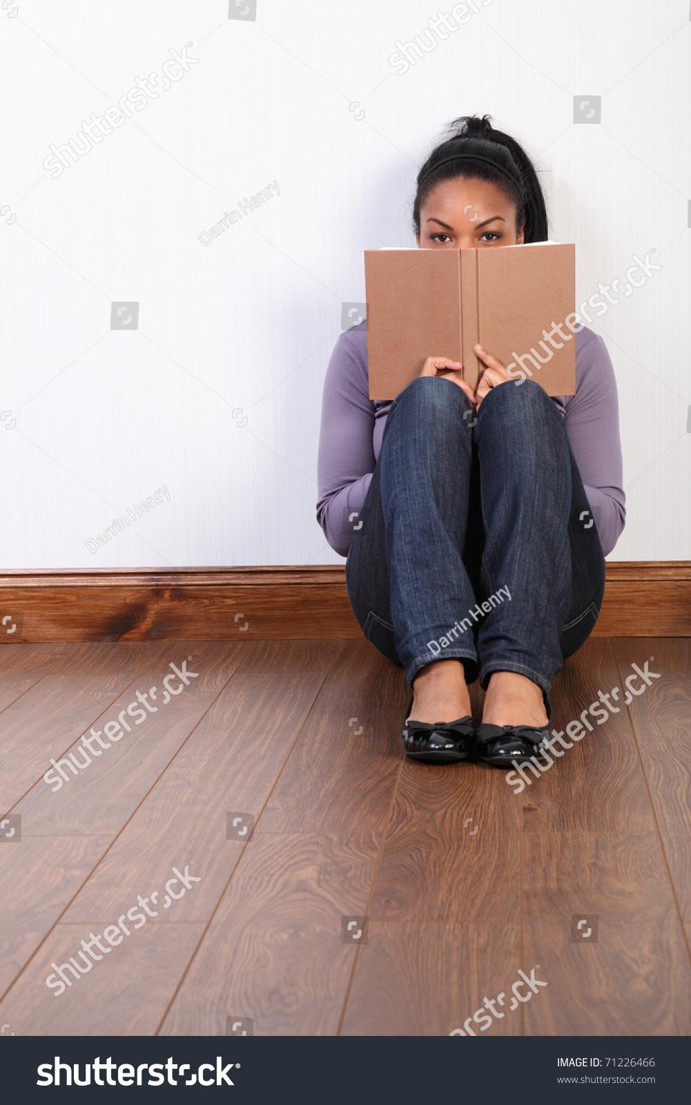 Awe Inspiring Portrait Black Girl Wearing Jeans Purple Stock Photo Edit Now Natural Hairstyles Runnerswayorg