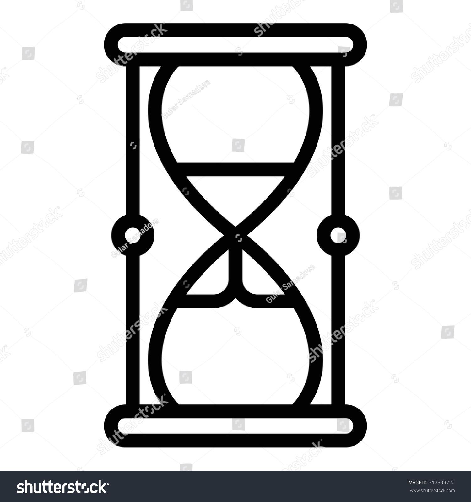 Hourglass symbol stock vector 712394722 shutterstock hourglass symbol biocorpaavc Images
