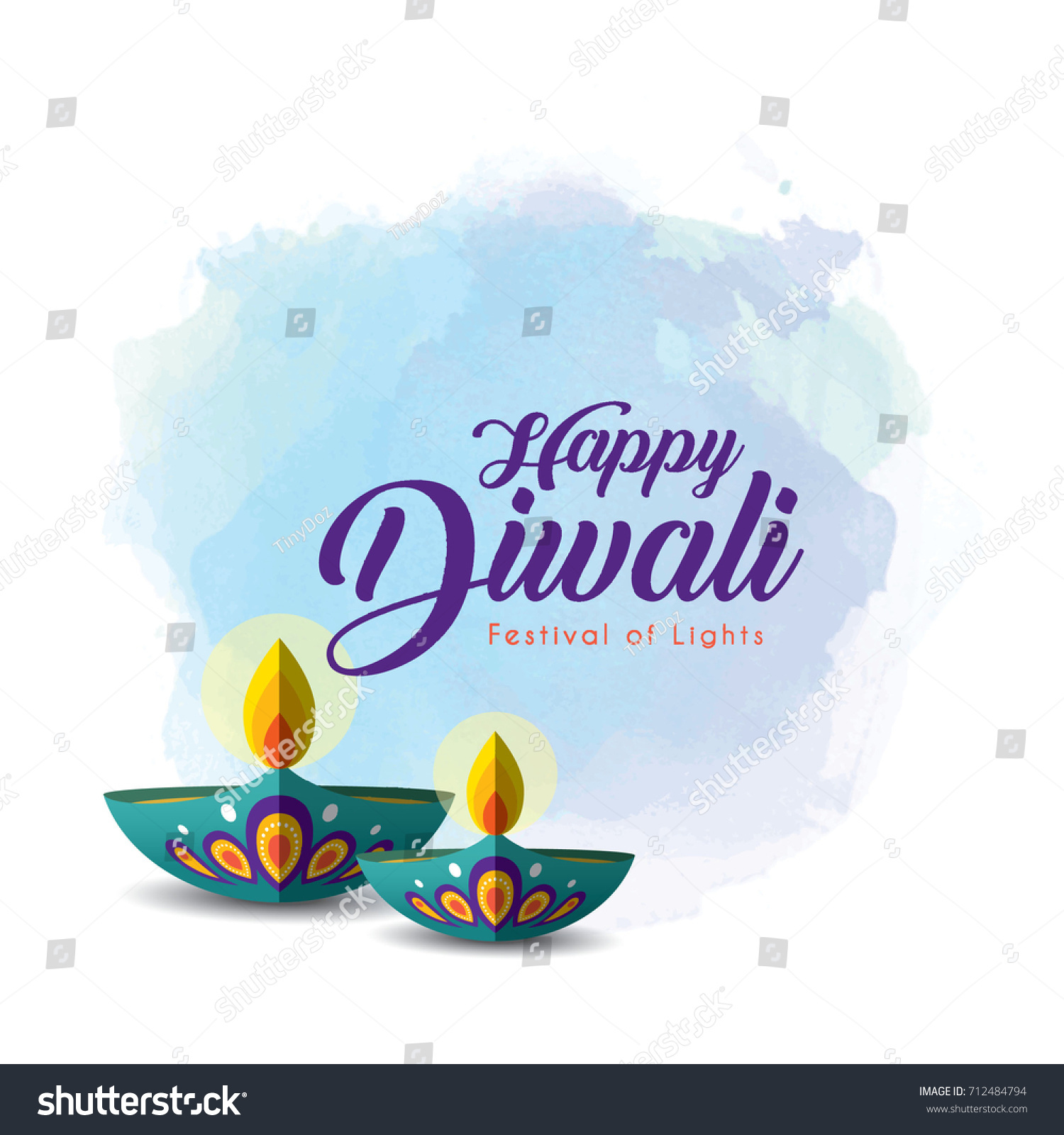 Diwali Card Background Vector Free Download Awesome Graphic Library