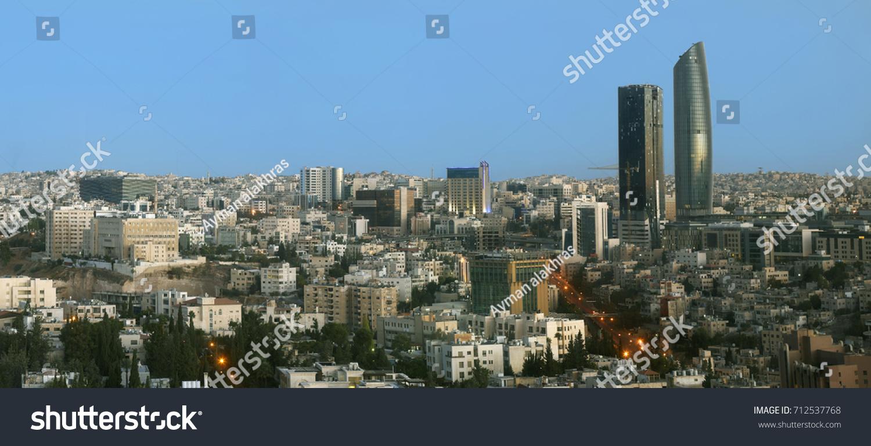 View Of Al Abdali The New Downtown Amman Jordan