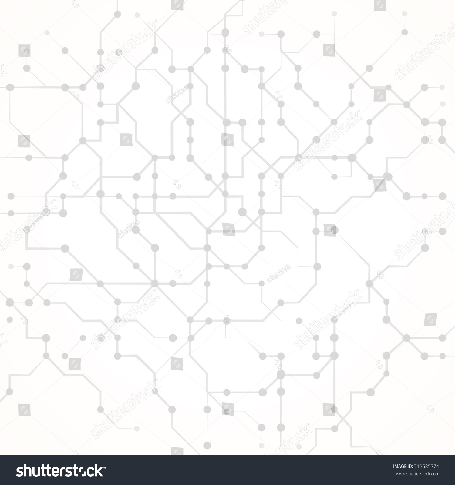 Simple Pattern Abstract Technology Background Computer Stock Vector ...