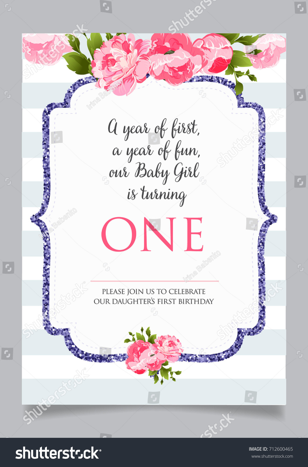 printable first birthday invitations - Acur.lunamedia.co