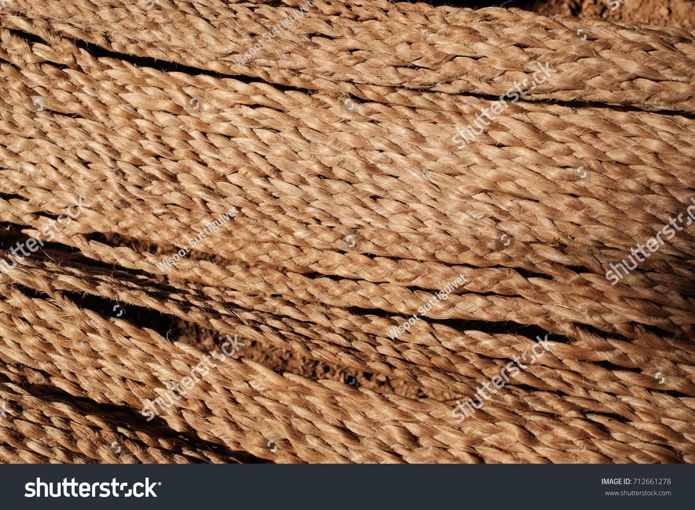 Hemp Rope Texture Stock Photo Edit Now 712661278