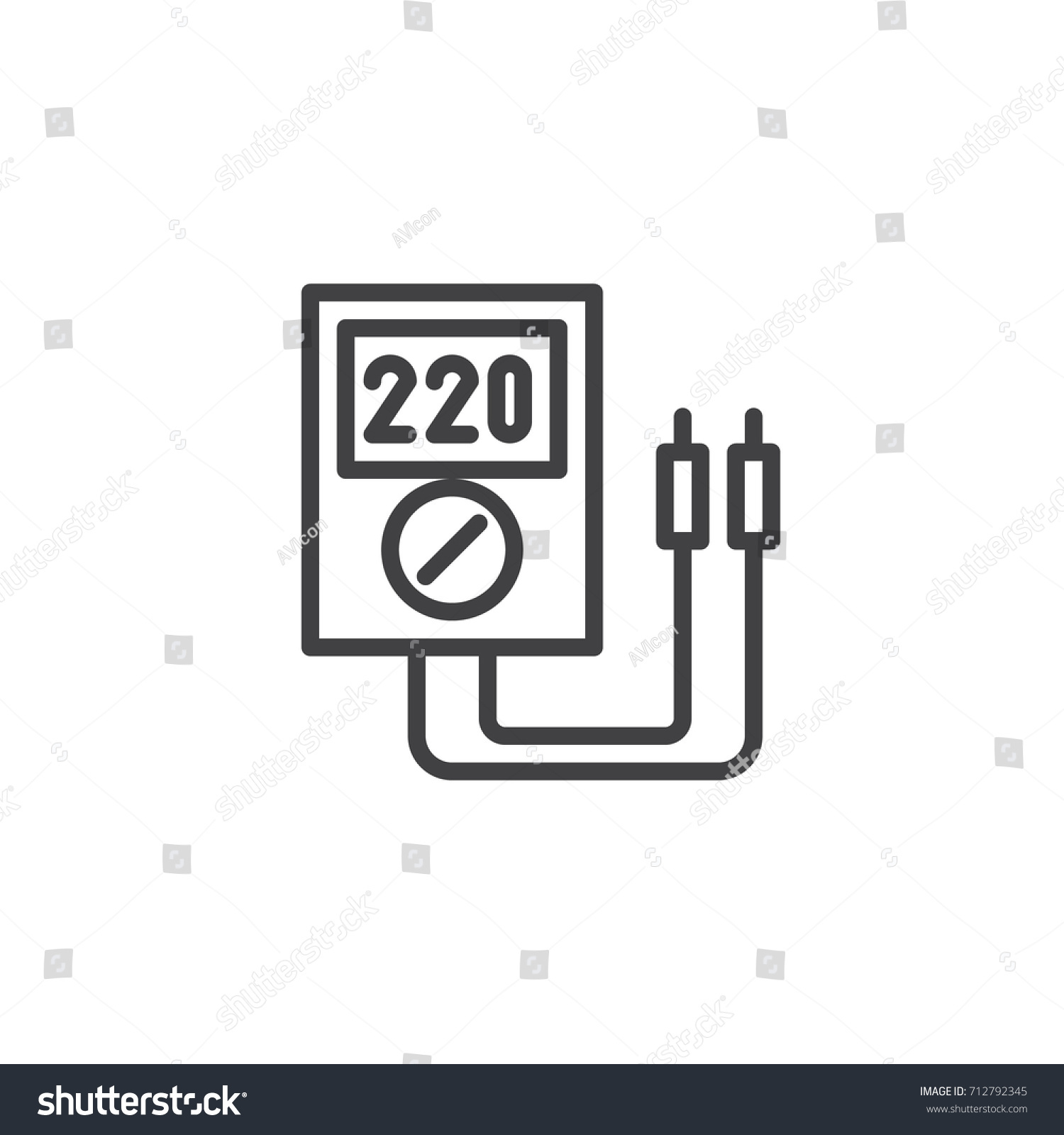 Cute Wiring Diagram For 150cc Scooter Tiny Dimarzio Pickup Wiring Color Code Round 3 Coil Pickup Gibson 3 Way Switch Young Guitar 5 Way Switch GreenWiring Gitar Voltmeter Line Icon Outline Vector Sign Stock Vector 712792345 ..