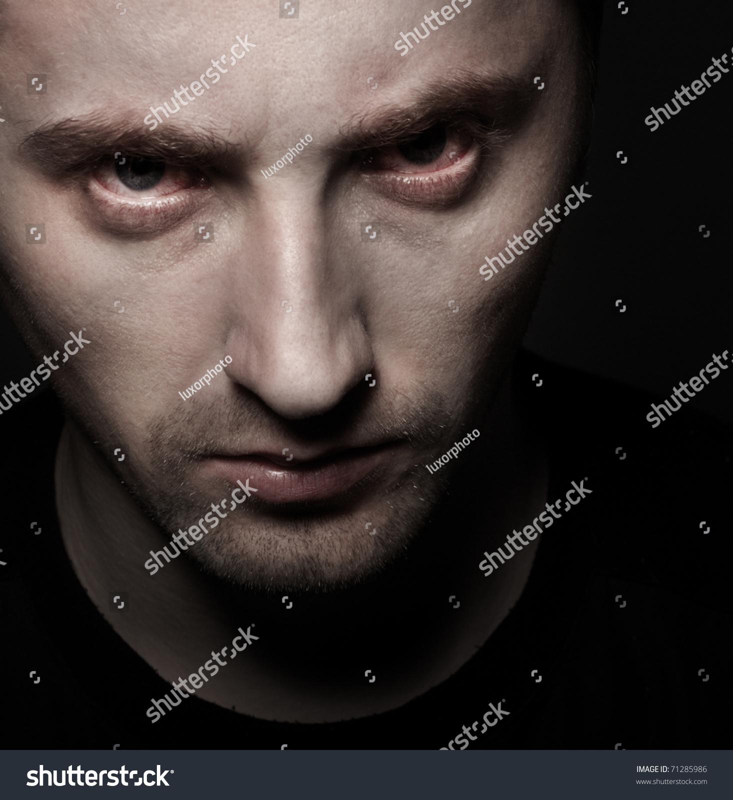 angry eyes man - photo #2