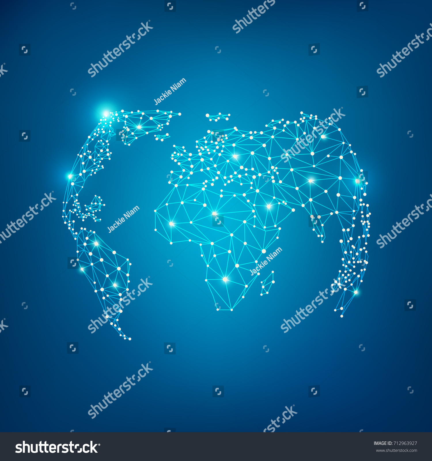 World map globe wireframe style polygon stock vector 712963927 world map globe in wireframe style polygon elements for info graphics gumiabroncs Gallery