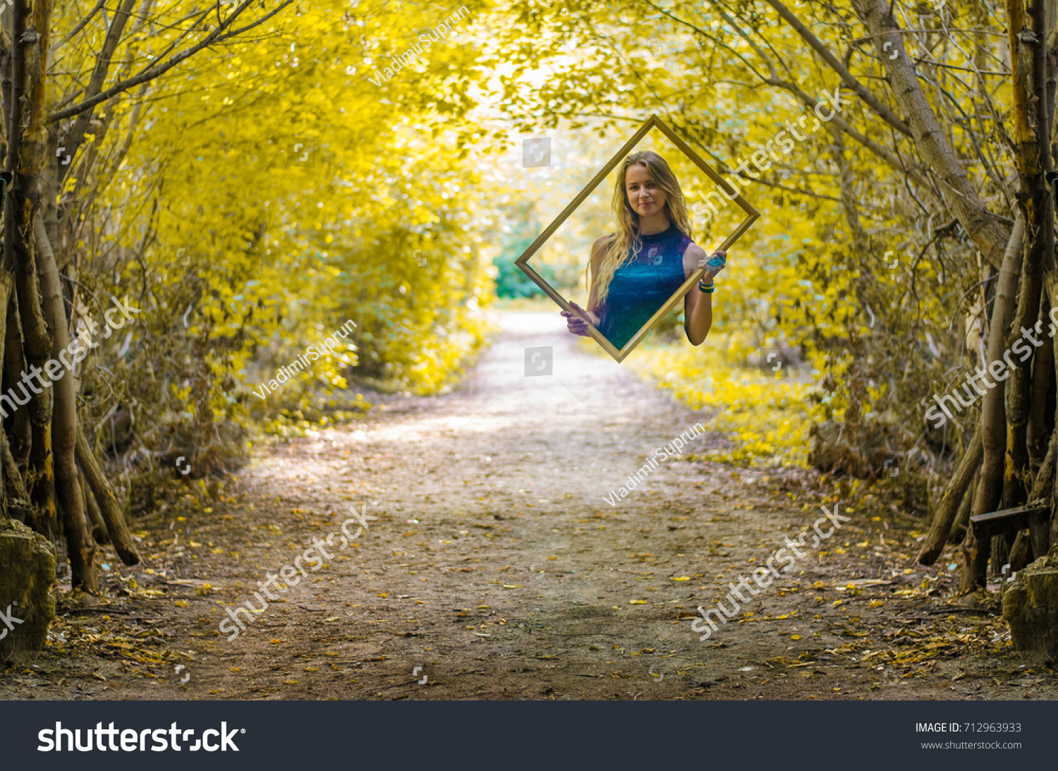 Girl Magic Transparent Frame Stock Photo 712963933 - Shutterstock