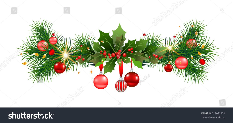 Tinsel Christmas Garland