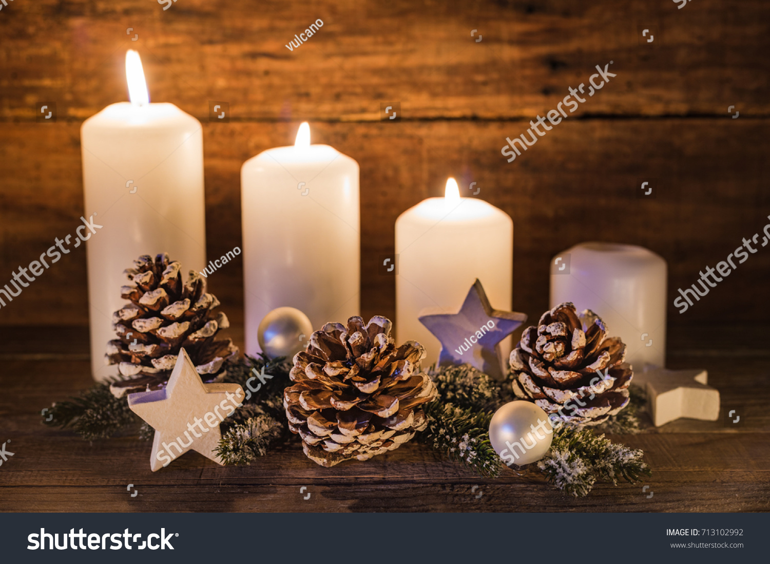 Advent background decoration candles christmas ornaments for Advent candle decoration