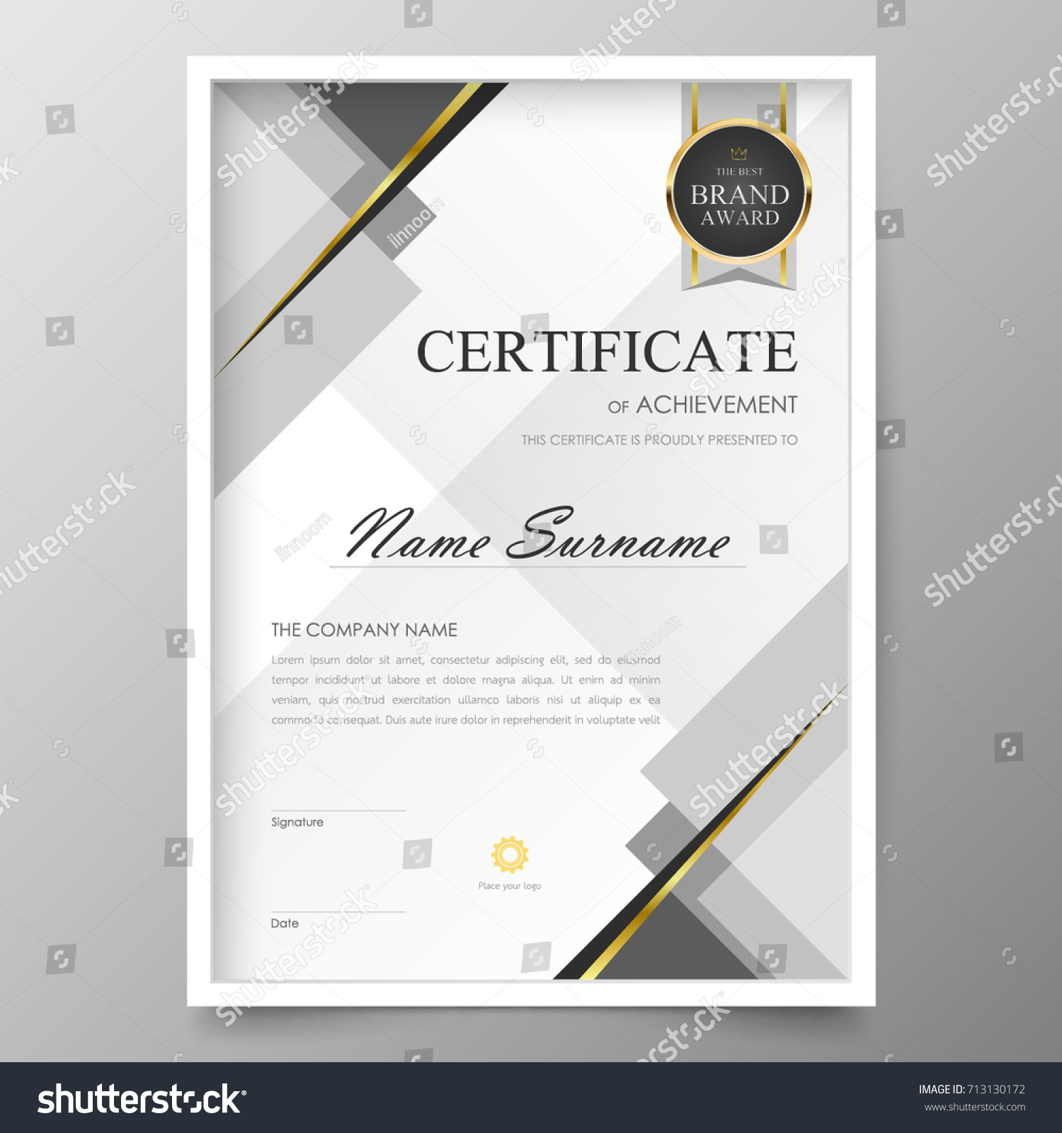 Certificate premium template awards diploma background certificate premium template awards diploma background vector modern value design and layout luxuriousver leaflet yelopaper Gallery
