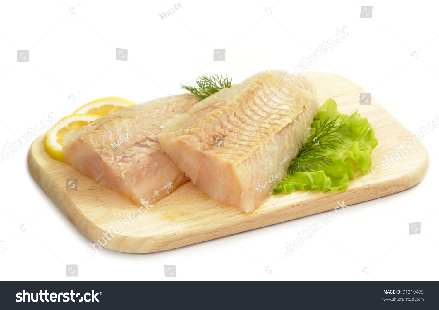 Raw fish meat for Is fish meat