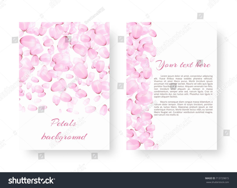 Rectangular Pattern Leaflets Romantic Style Delicate Stock Vector