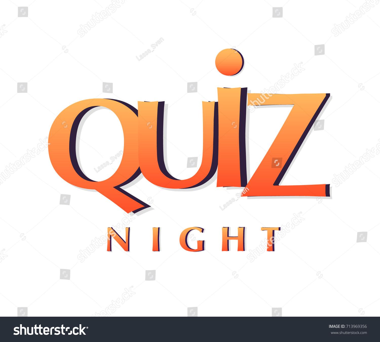 Quiz Night Banner Poster Template Vector 713969356 – Quiz Night Poster Template Free