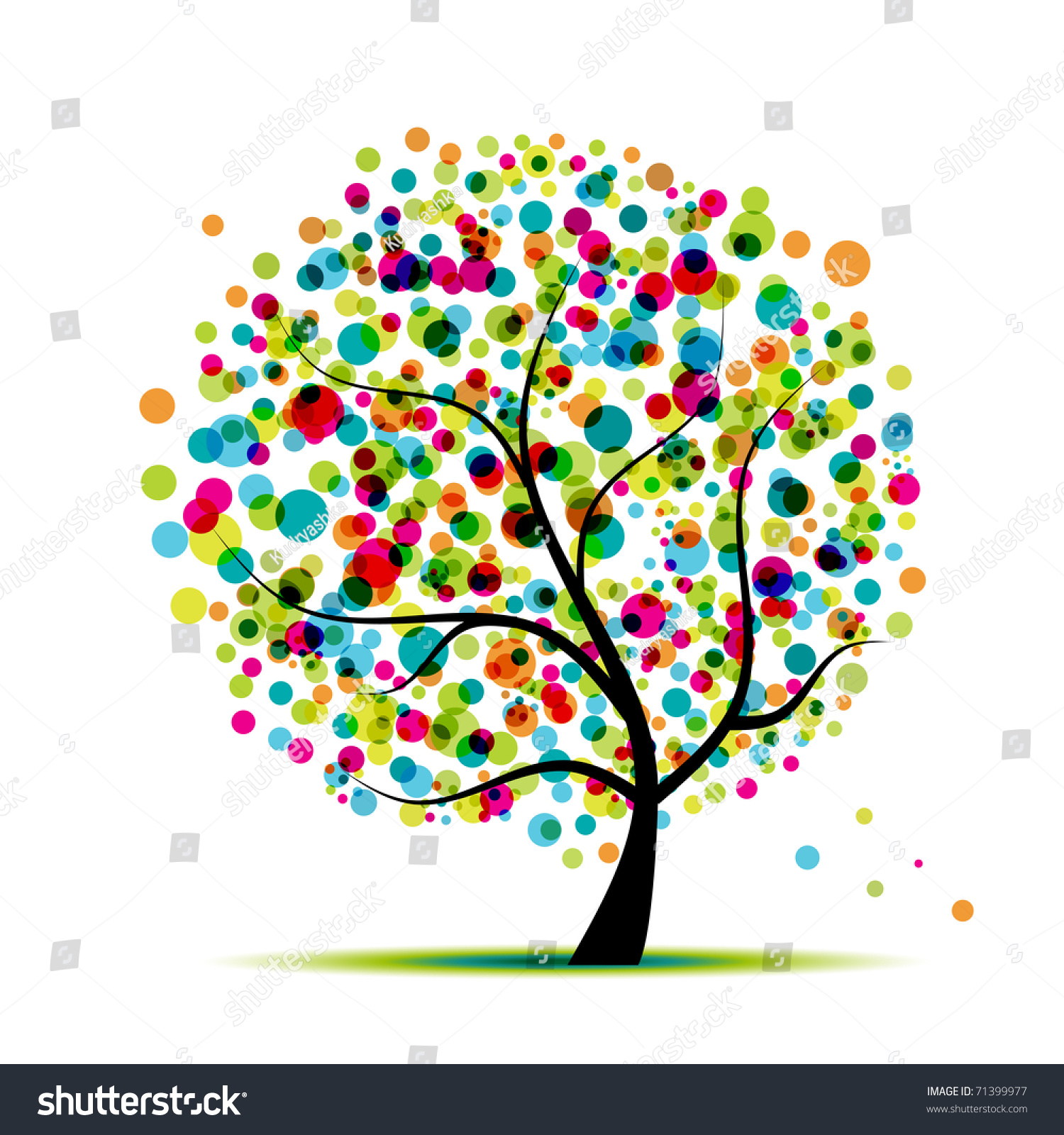 Spring Tree Clip Art spring tree stock vectors & vector clip art ...