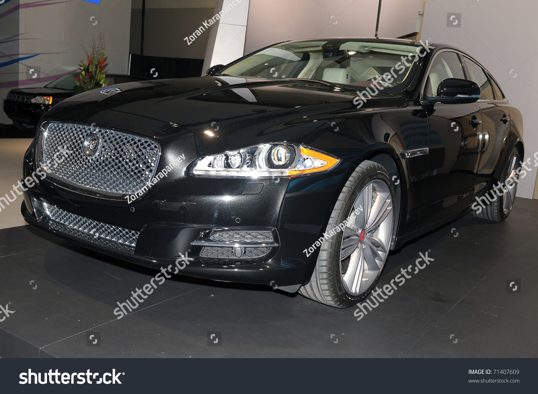 Torontofebruary Jaguar Xj Supersport Showcased Stock Photo - 2011 jaguar xj supersport