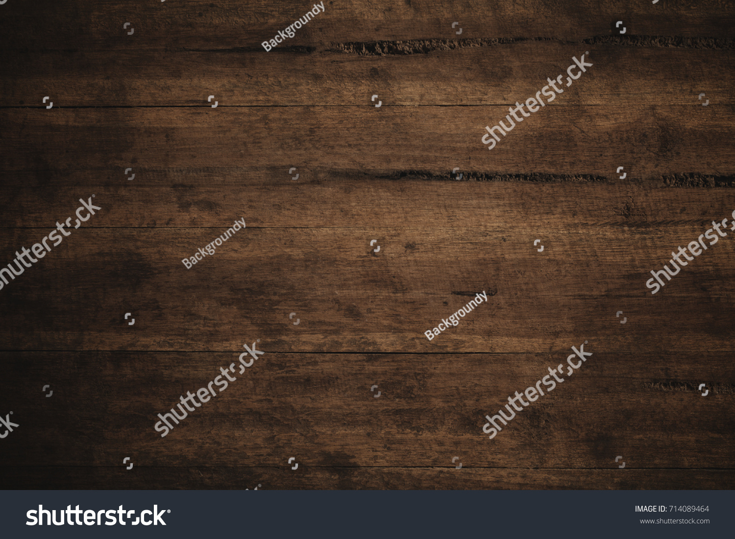 Old grunge dark textured wooden background,The surface of the old brown wood texture #714089464