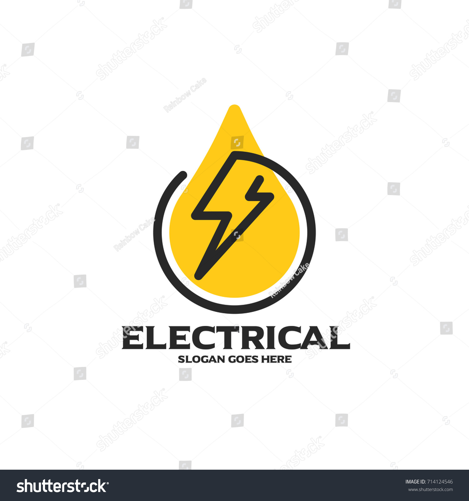Electrical logo electrical mechanical business company stock electrical logo electrical and mechanical business company good for name card branding flyer magicingreecefo Images