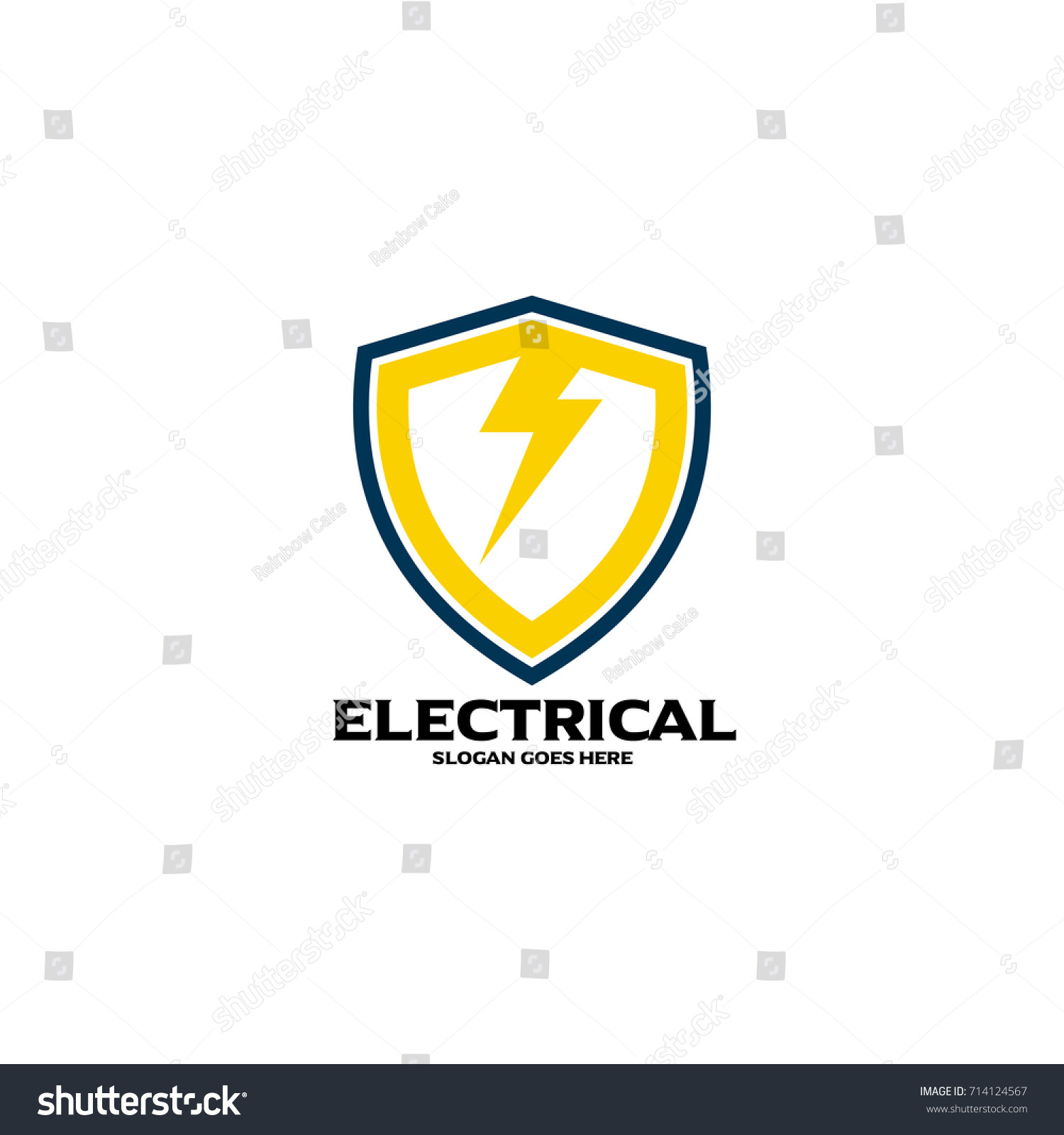 Electrical logo electrical mechanical business company stock vector electrical logo electrical and mechanical business company good for name card branding flyer colourmoves