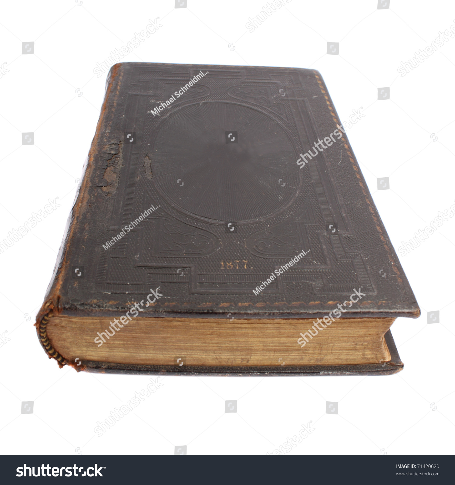 Black Book Cover Images ~ Oldest religious book in black cover stock photo