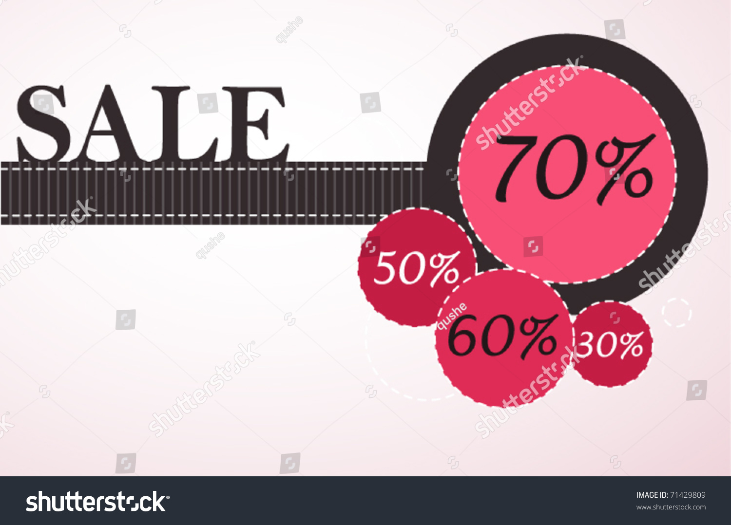 Poster design elements - Sale Poster Design Elements Vector Illustration
