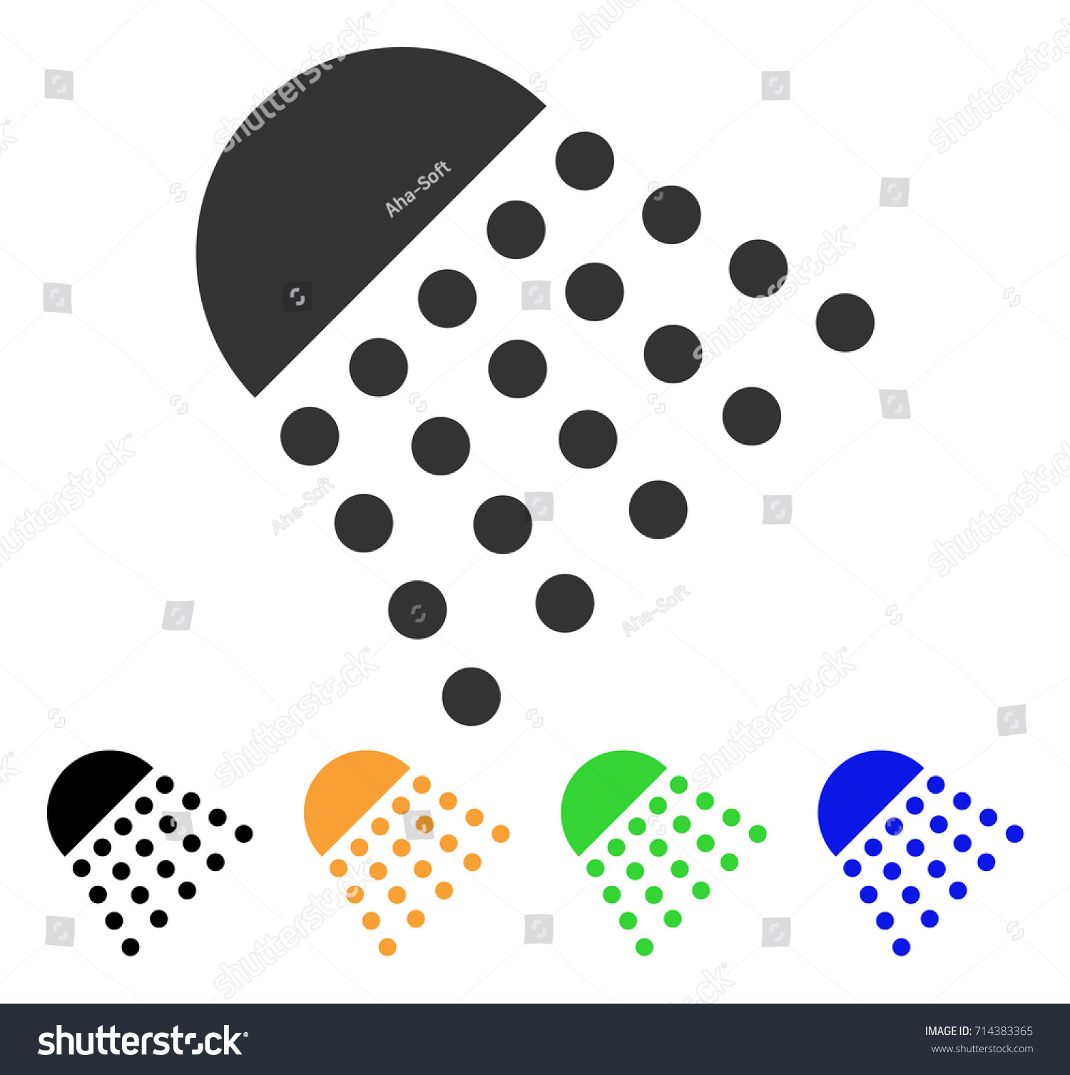 Spray tool icon vector illustration style stock vector 714383365 spray tool icon vector illustration style is a flat iconic spray tool symbol with black biocorpaavc