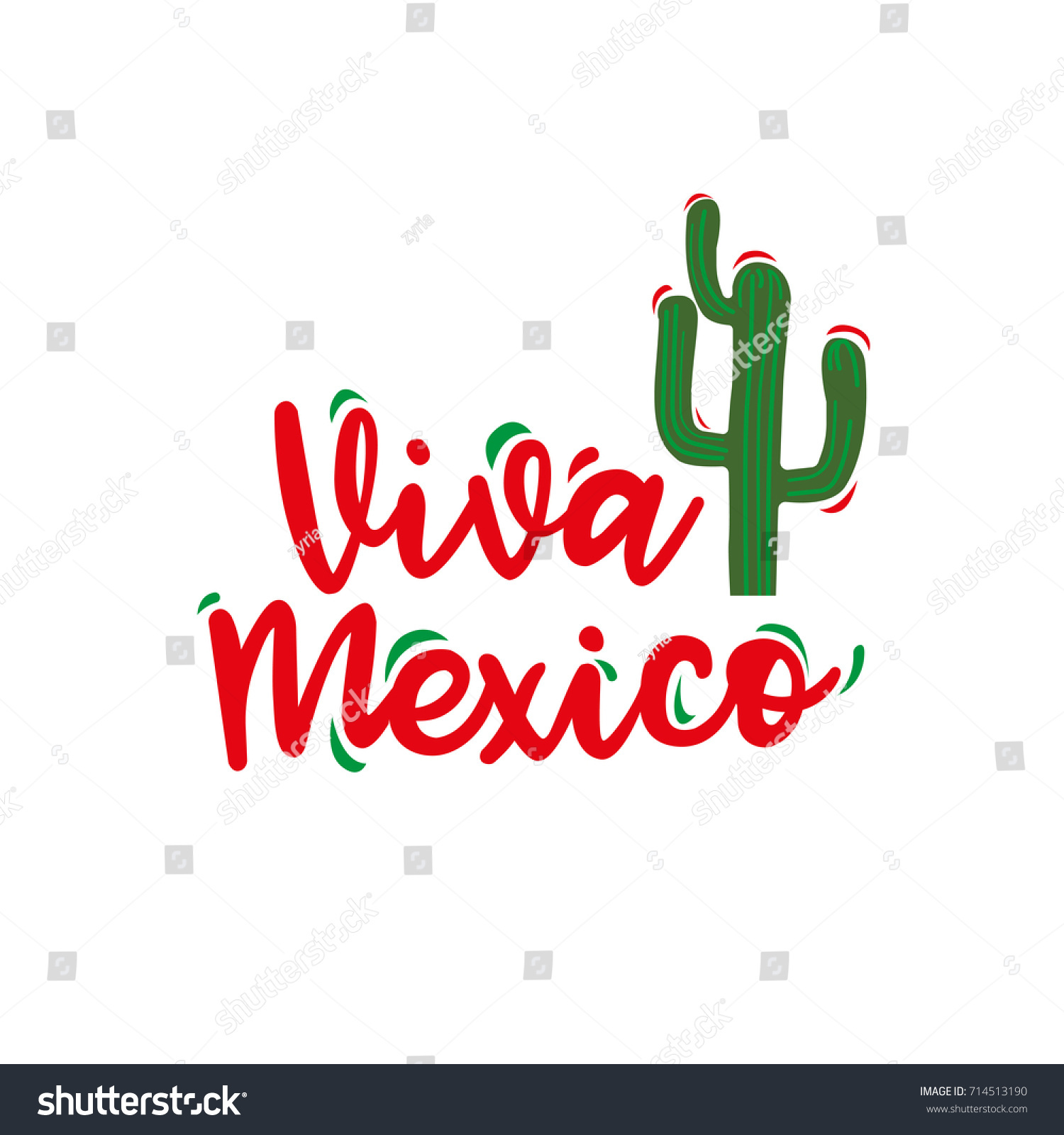 Viva mexico traditional mexican phrase holiday stock vector hd viva mexico traditional mexican phrase holiday hand written lettering for greeting card isolated m4hsunfo