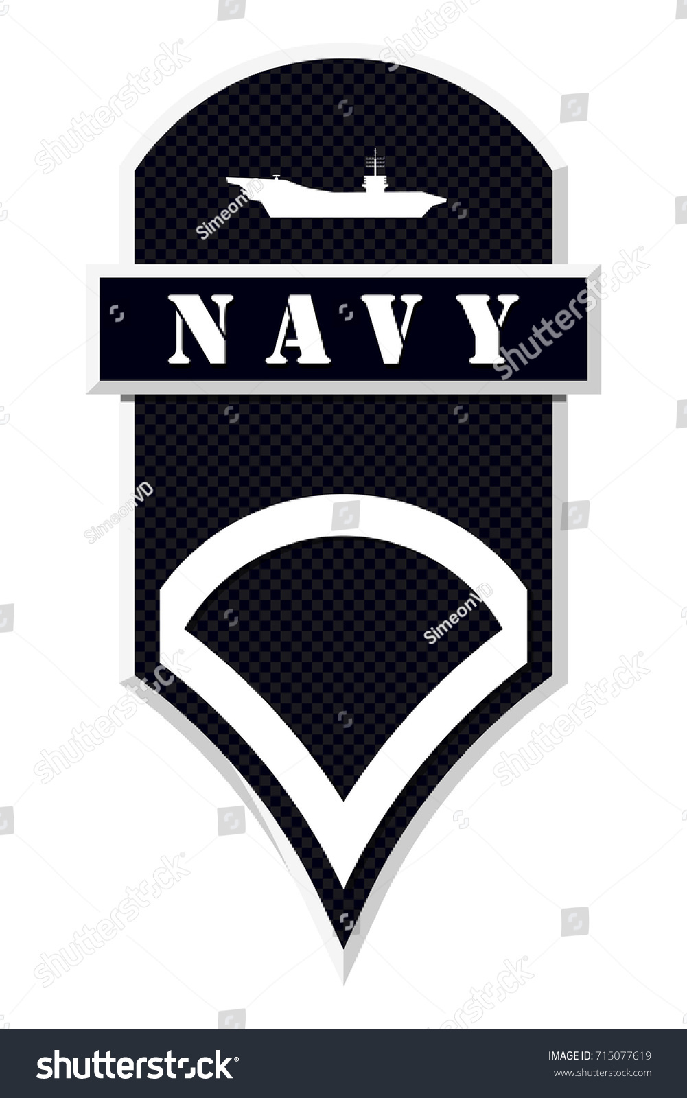 Military ranks insignia stripes chevrons army stock vector 715077619 military ranks and insignia stripes and chevrons of army private first class biocorpaavc Images