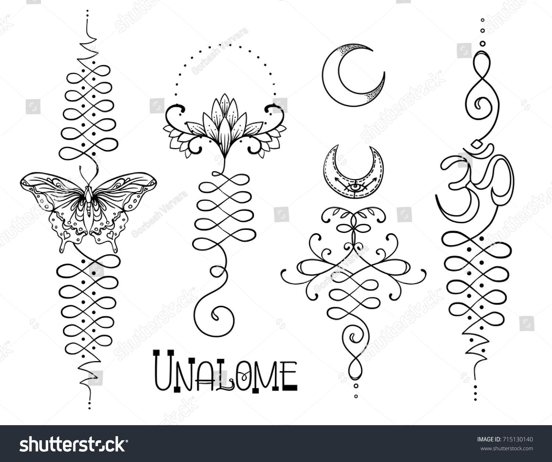 Hindu text symbols gallery symbol and sign ideas lotus sacred geometry unamole hindu symbol stock vector 715130140 unamole hindu symbol of wisdom and path buycottarizona