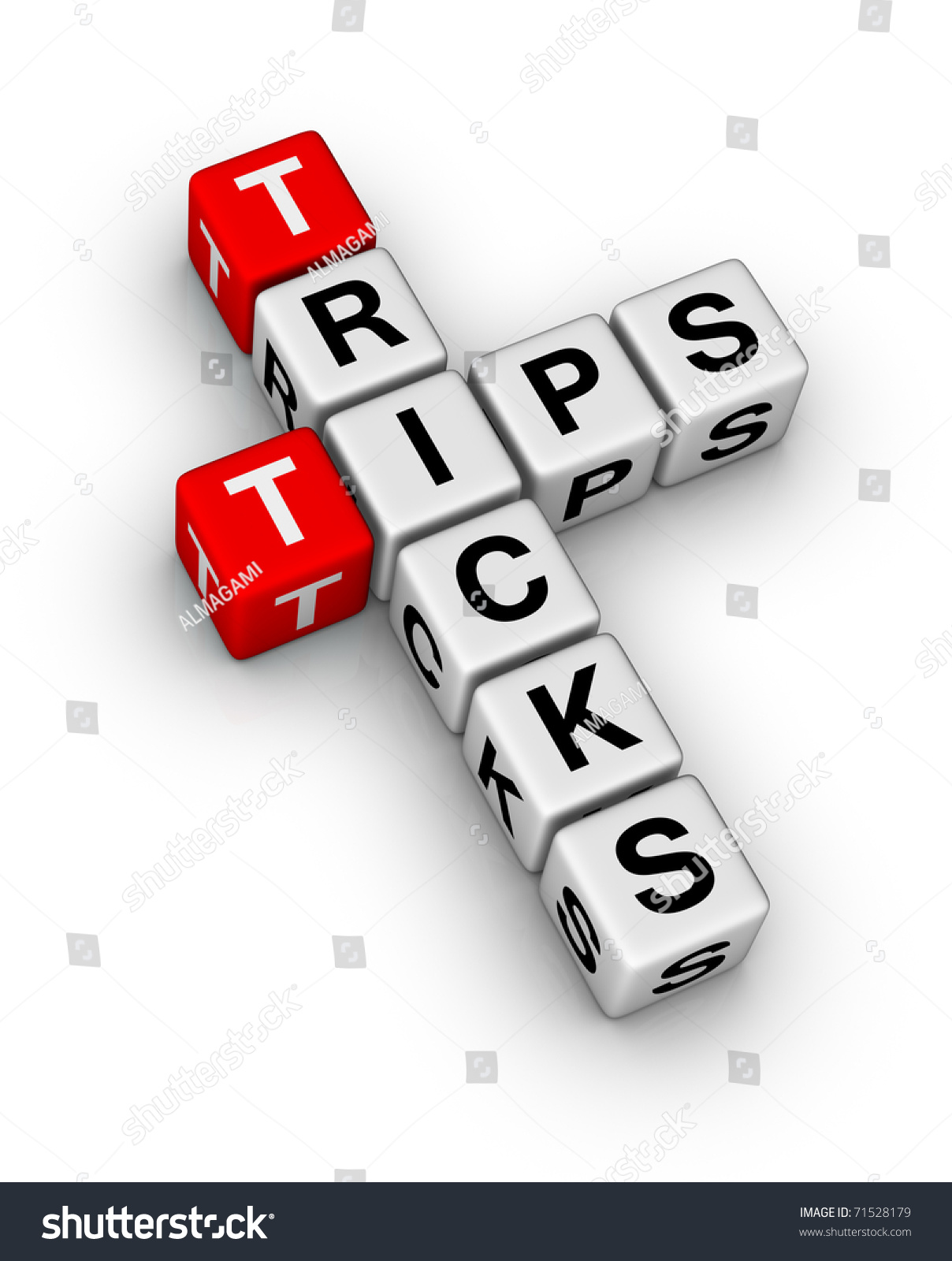 helpful tips and tricks symbol stock photo 71528179