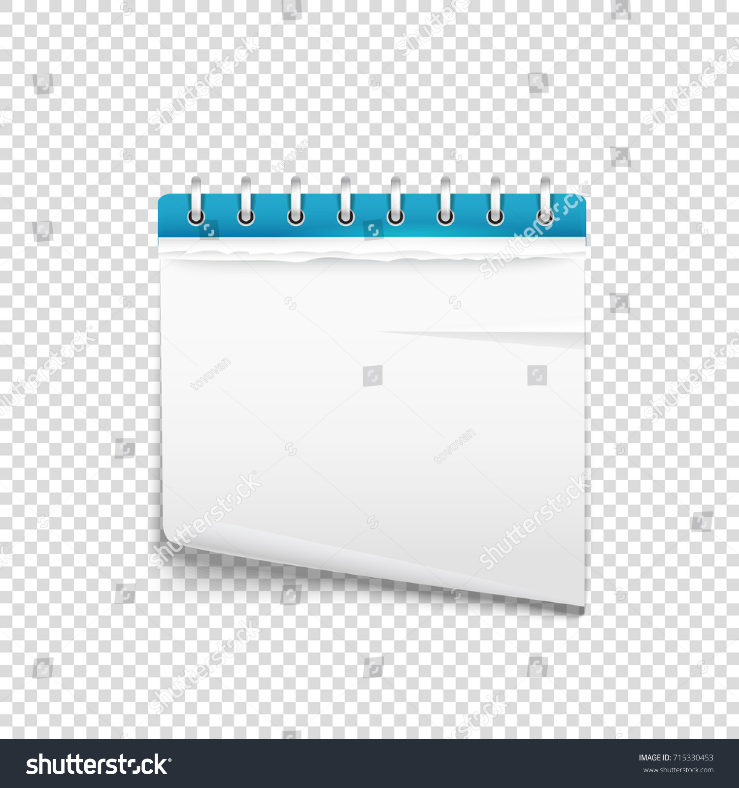 Paper Diary On Transparent Background Vector Stock Vector Stock Vector Paper  Diary On Transparent Background Vector Mockup Template For A Text 715330453  ...  Diary Paper Template