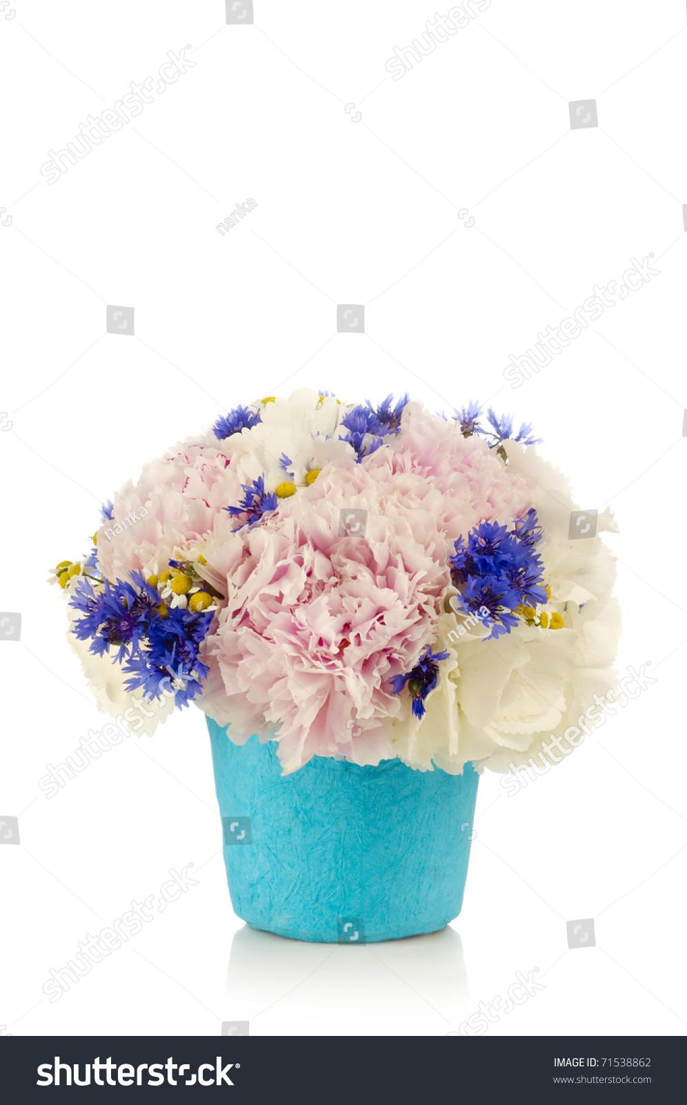 White Stock Flower Bouquet