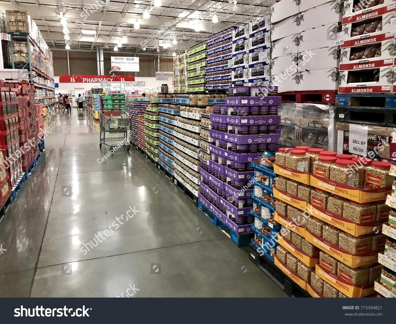 Folsom Usa Aug 2 2017 Costco Stock Photo (Edit Now) 715394821