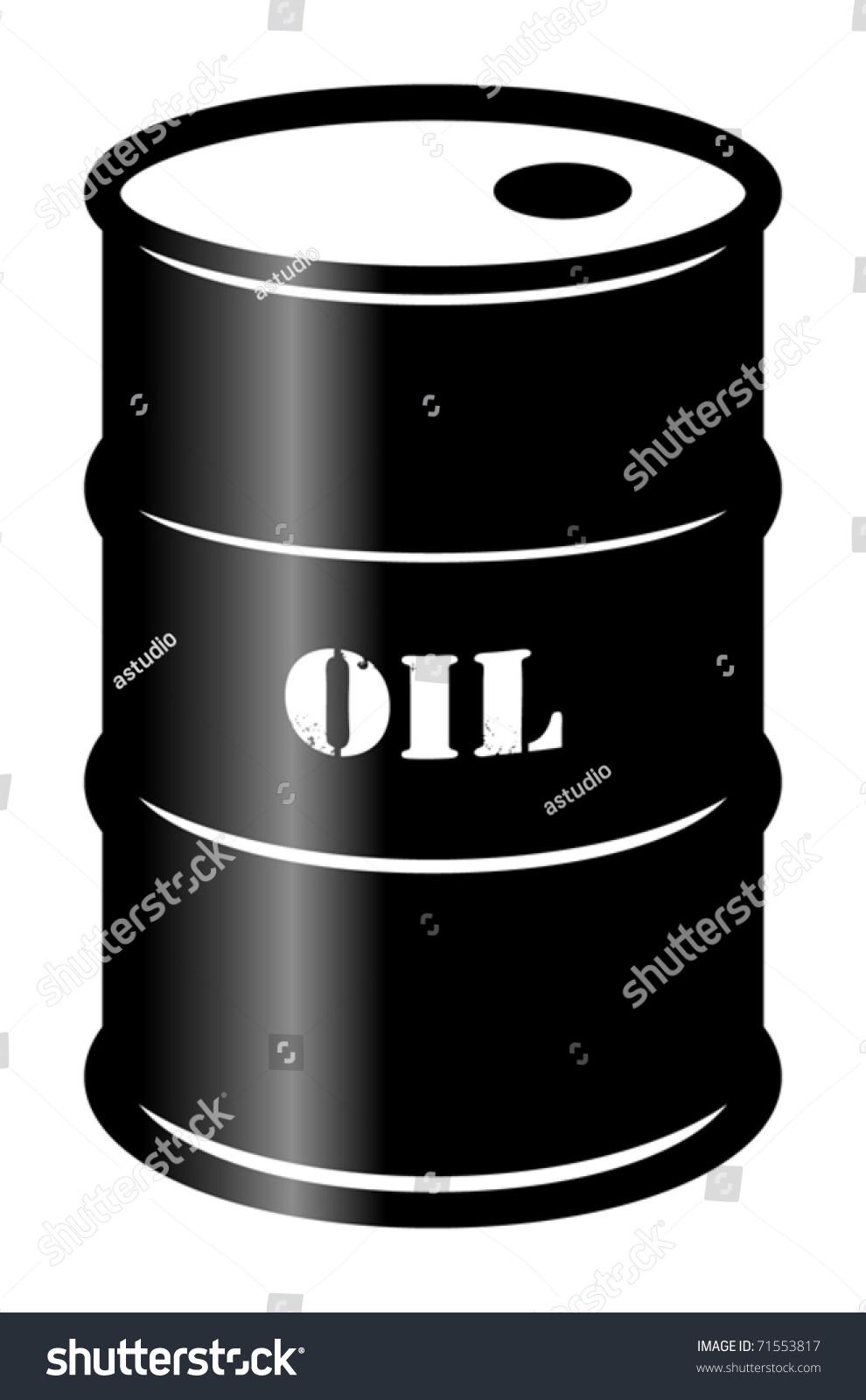 Oil barrel vector illustration stock vector 71553817 for Motor oil by the barrel
