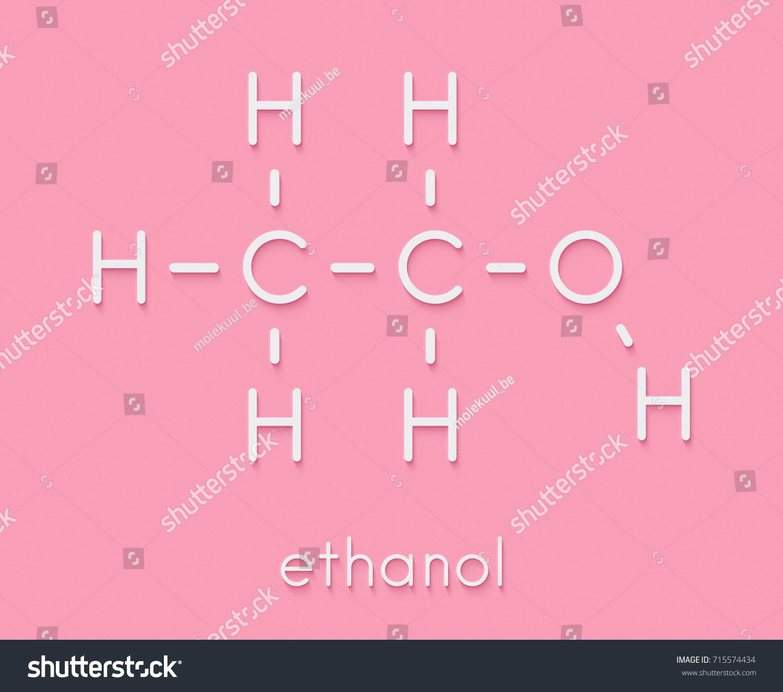 Alcohol ethanol ethyl alcohol molecule chemical stock illustration alcohol ethanol ethyl alcohol molecule chemical structure skeletal formula buycottarizona
