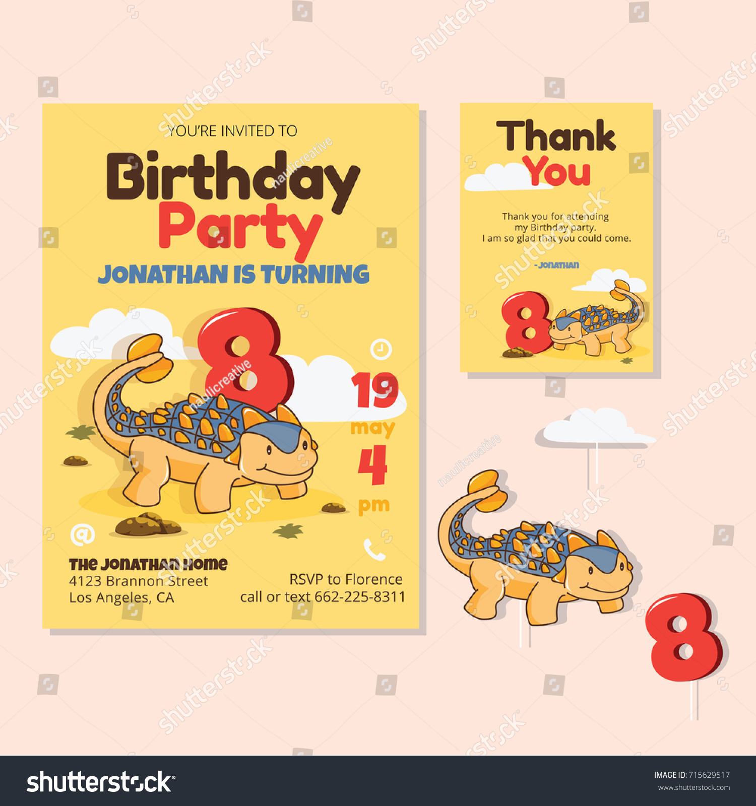 8th Birthday Party Invitations Images - Party Invitations Ideas