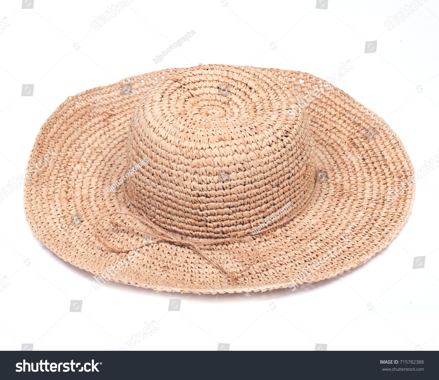 wicker yellow mat from rice straw. oval shape on a white background ... 739eb7c1cb06