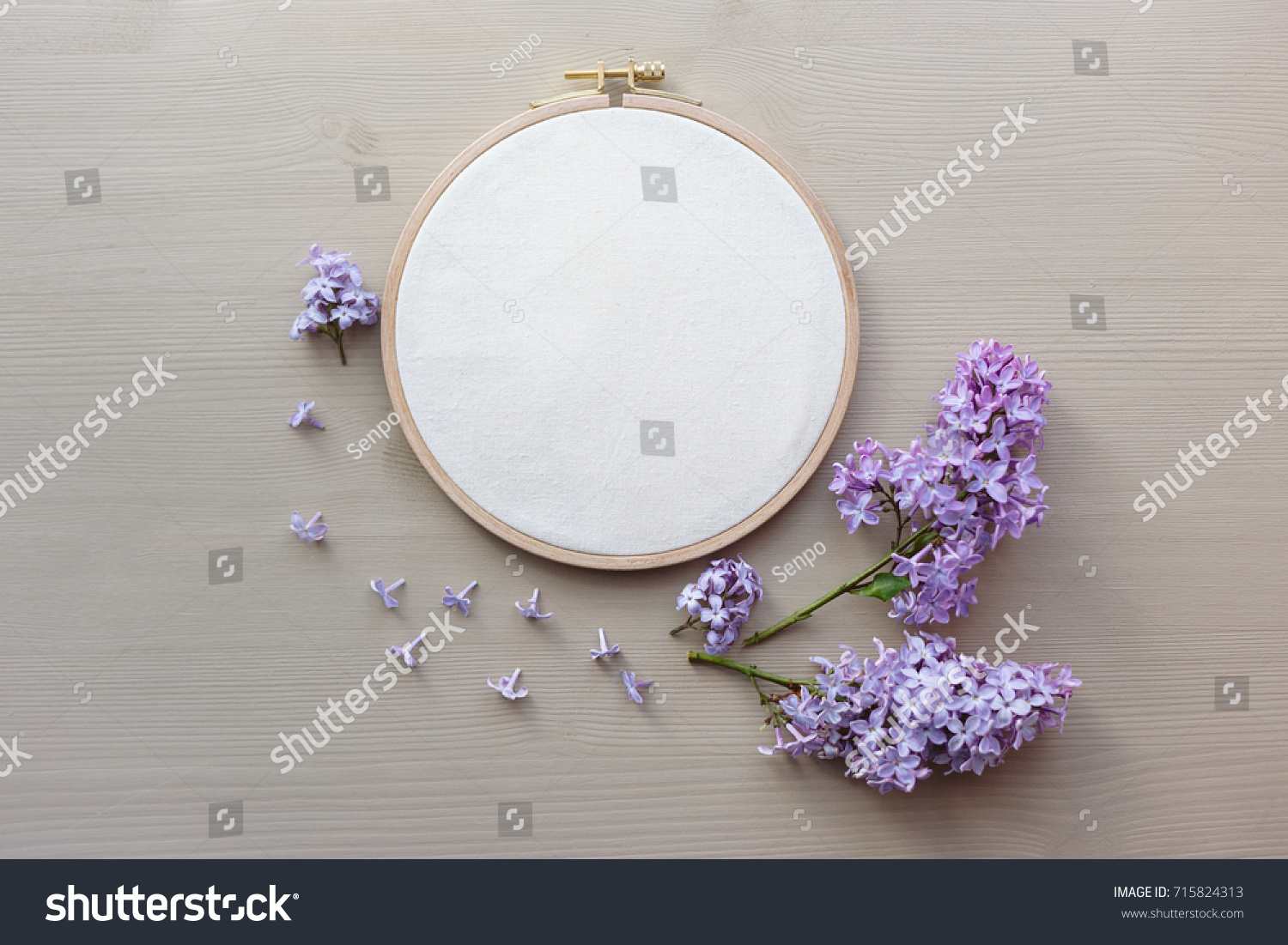 Flat lay top view photo mockup stock