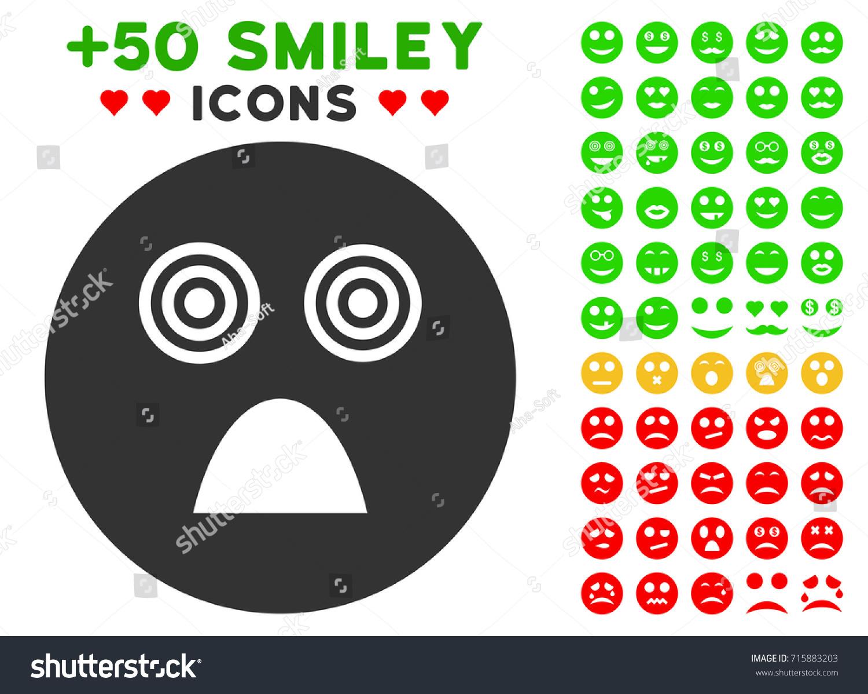 Crazy smiley icon colored bonus avatar stock vector 715883203 crazy smiley icon with colored bonus avatar symbols vector illustration style is flat iconic elements biocorpaavc