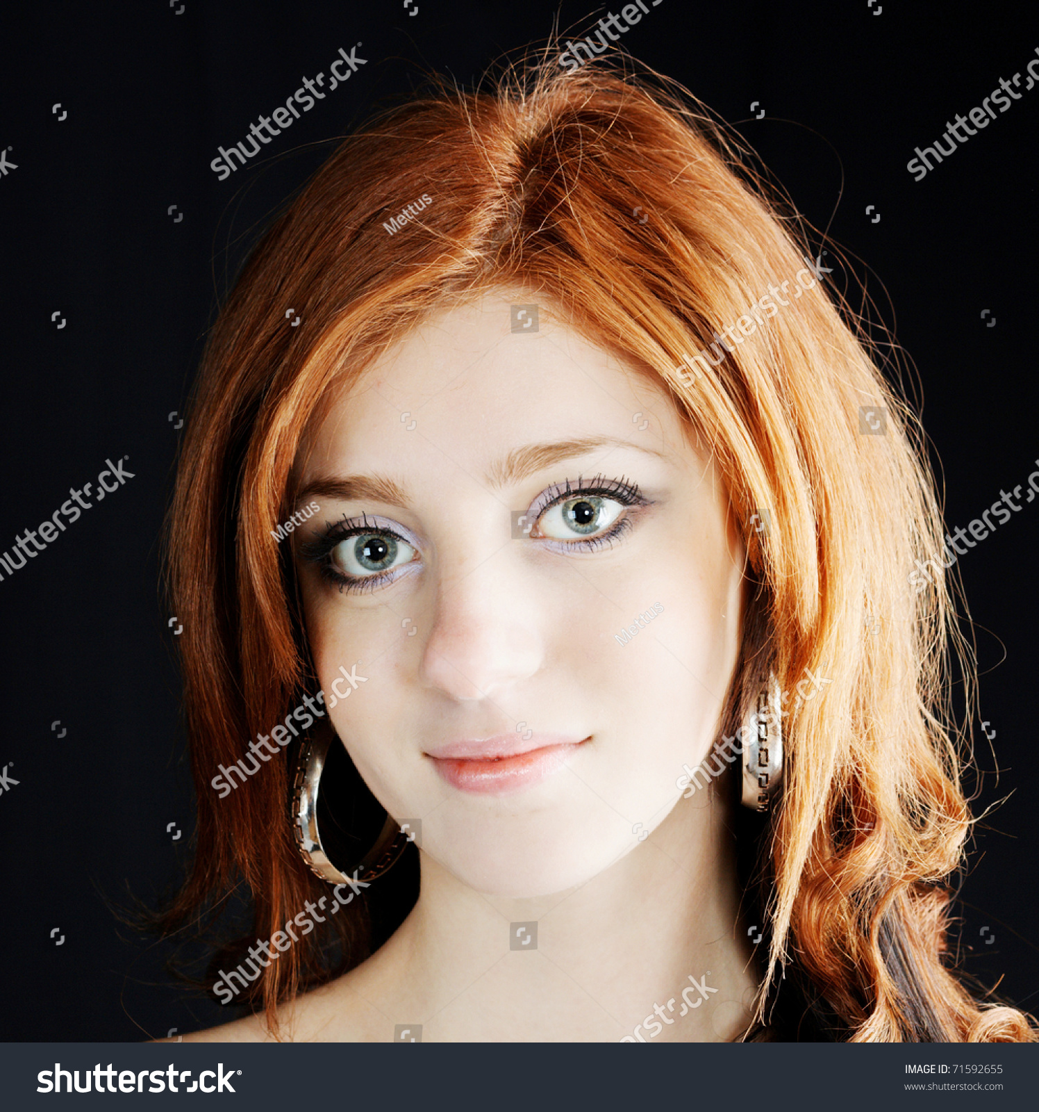 face of the girl