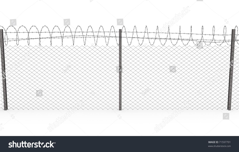 Chain Link Fence Barbed Wire Top | www.pixshark.com ...