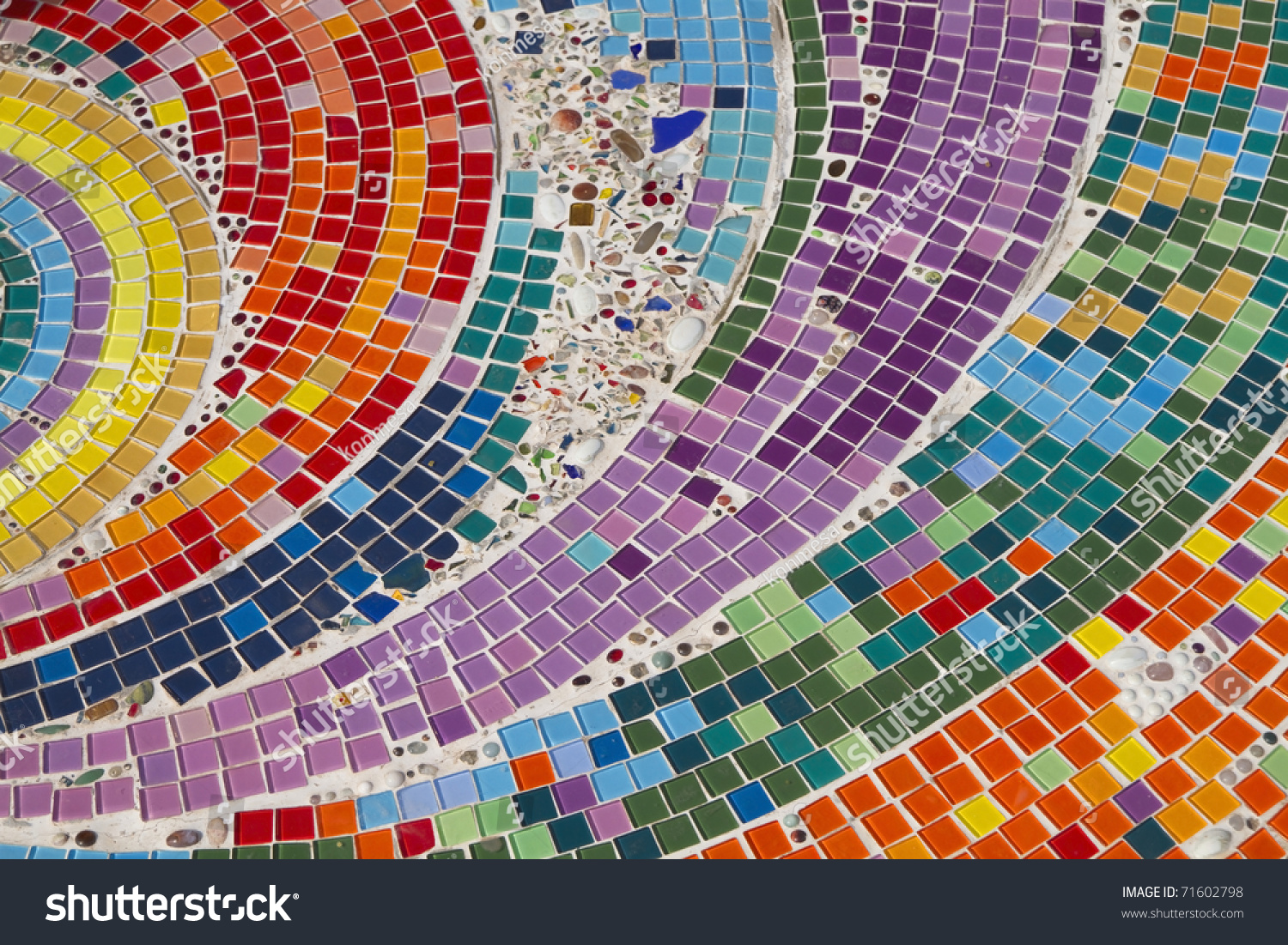 Colorful Mosaic Background Stock Photo 71602798 Shutterstock