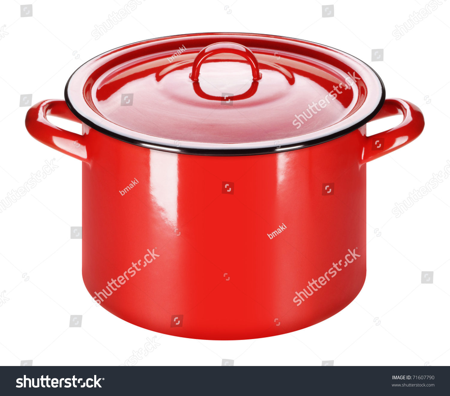 Enamel Kitchen Accessories: Enamel Pot: Old-Style, And Is Still Used In Kitchen
